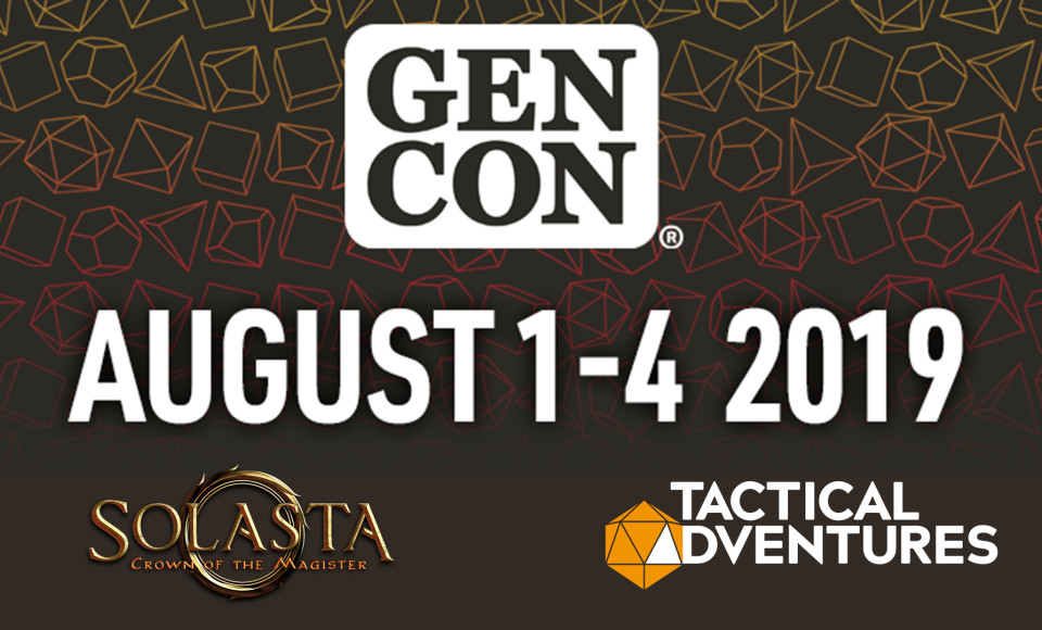 Solasta Demo will be available at Gen Con 2019!
