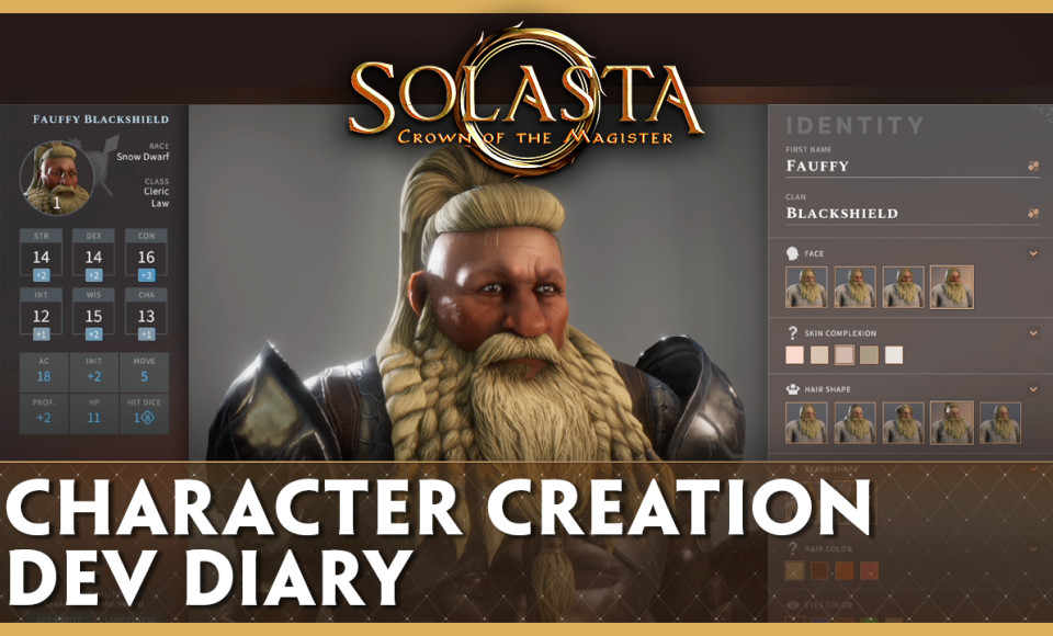 Dev Update Video - Character Creation