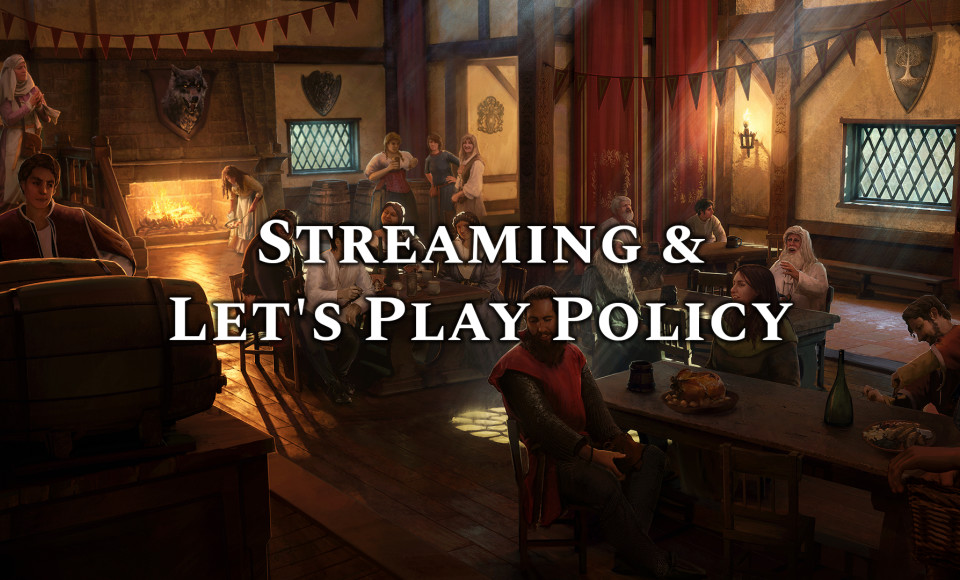 Solasta - Streaming / Let's Play Policy