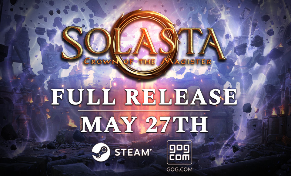 Solasta graduates from Early Access on May 27th!