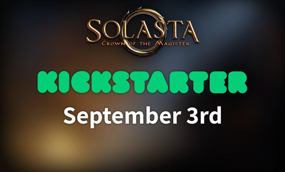 Solasta Kickstarter starts September 3rd!