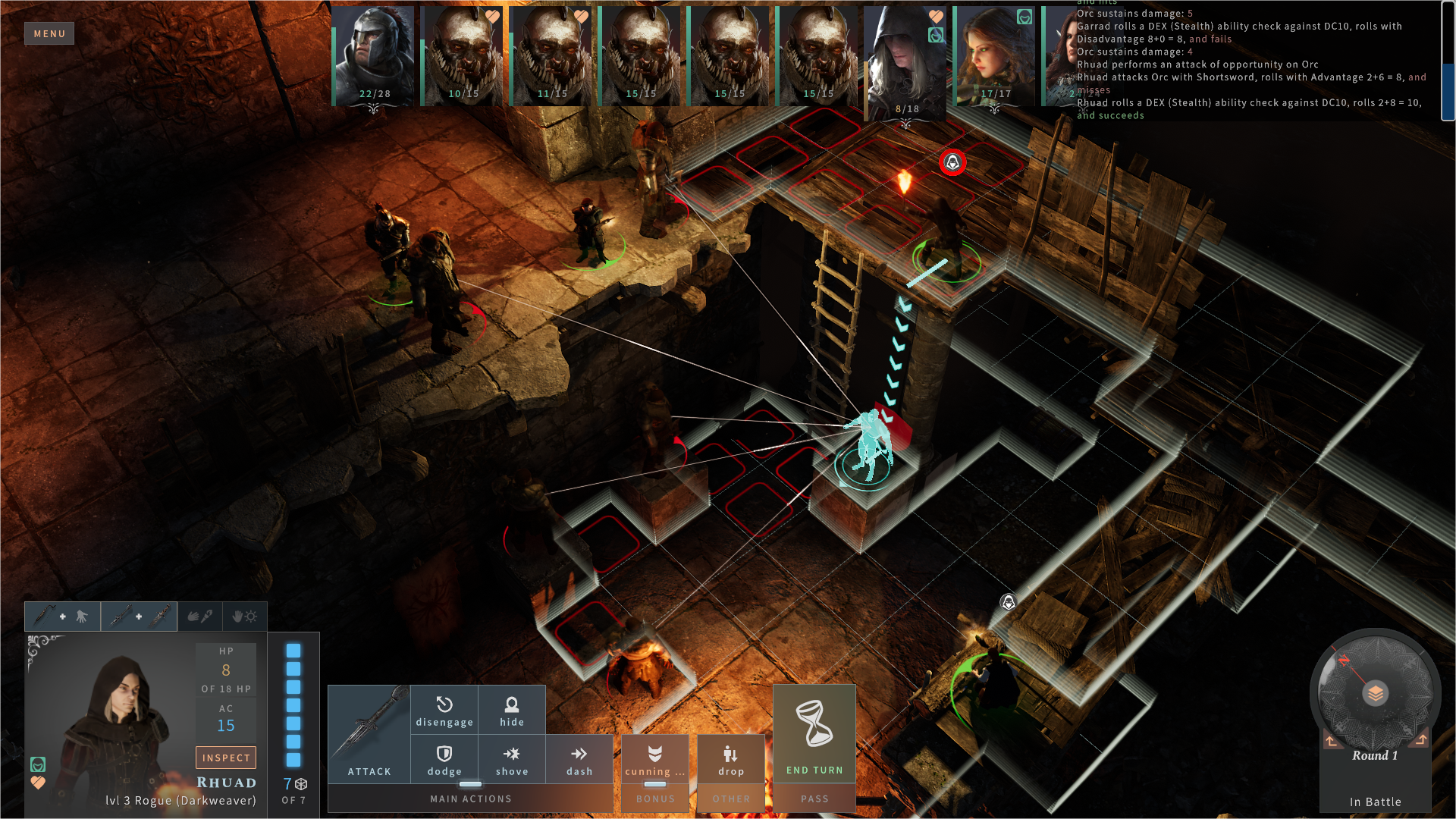 combat tactical lines of sight | RPG Jeuxvidéo