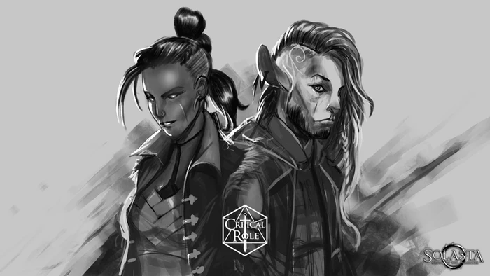 Here's Beauregard & Caduceus by our Art Director for the occasion!